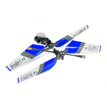 SH (SH-6020-1-HEAD-BLUE) 6020-1 Swift 3CH Helicopters Complete Rotor Head Assembly Set (Blue)SH / Copter V-MAX Parts