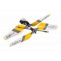 SH (SH-6020-1-HEAD-Y) 6020-1 Swift 3CH Helicopters Complete Rotor Head Assembly Set (Yellow)