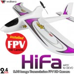 WALKERA HiFa 3 Axis Gyro FPV HD Camera Brushless 4CH Airplane for DEVO without Transmitter ARTF - 2.4GHz