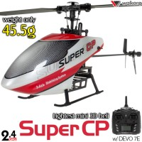WALKERA Super CP 3D 3G Gyro System 6CH Helicopter with DEVO 7E, 6S,7,8S,10 or 12S Transmitter RTF - 2.4GHz