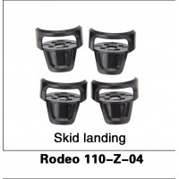 Walkera (Rodeo 110-Z-04) Skid landing