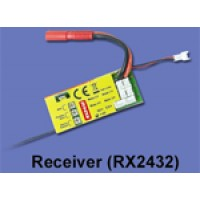 Walkera (HM-YS8001-Z-27) 2.4G Receiver (RX2432)