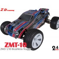 ZD Racing (ZD-10223) ZMT-10 2WD 1/10 Scale Brushless Electric Truggy RTR - 2.4GHz