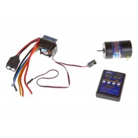 ZTW (ZTWSL60A+5.5T)  60A Sensorless Brushless ESC Combo with 5.5T Sensorless Motor and Setup Card
